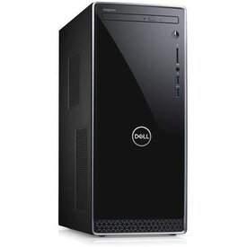 Dell Inspiron 3670 Core i3-8100 Quad-Core 3.6GHz 8GB 1TB DVDRW Desktop PC W10H w/Bluetooth, HDMI & WiFi