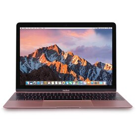 Apple MacBook Retina Core M7-6Y75 Dual-Core 1.3GHz 8GB 480GB SSD12 Notebook (Rose Gold) (Early 2016)