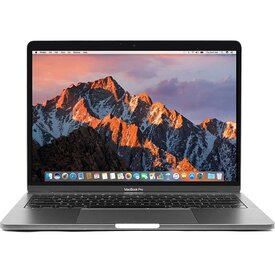 Apple MacBook Pro Retina Core i5-7360U Dual-Core 2.3GHz 16GB 480GBSSD 13.3 Notebook (Space Gray) (Mid 2017)