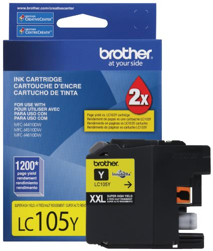 Brother International-LC105Y