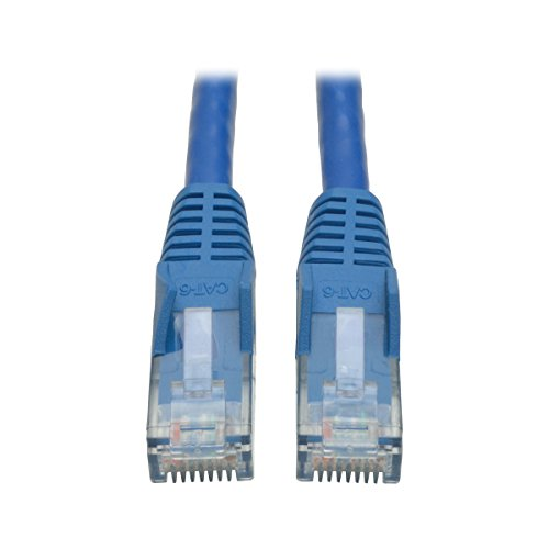 2ft Cable Cat6 Gig Ethernet Blue Snagless Patch Rj45