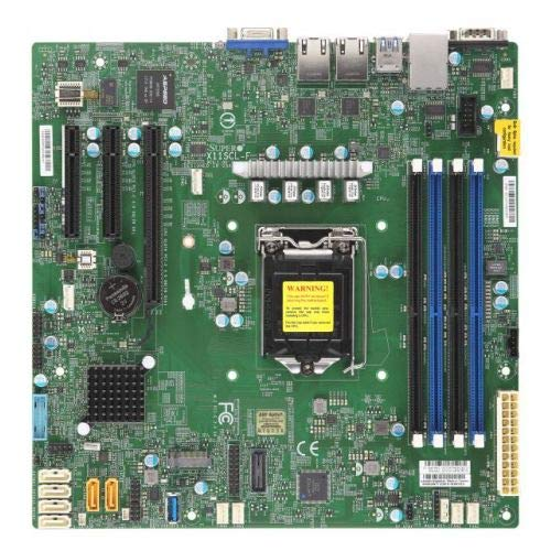 SUPERMICRO - MOTHERBOARDS-MBD-X11SCL-F-B